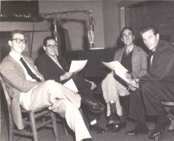 Stan Freberg, Daws Butler, Russ, and Producer